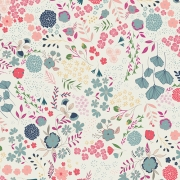 Blooming Ground Lustrous by Art Gallery Fabrics sold by Online Canadian Fabric Store Woven Modern Fabric Gallery