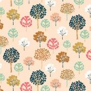 Trees sold by Online Canadian Fabric Store Woven Modern Fabric Gallery