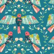 Birds sold by Online Canadian Fabric Store Woven Modern Fabric Gallery