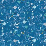 Ice Mid Blue sold by Online Canadian Fabric Store Woven Modern Fabric Gallery