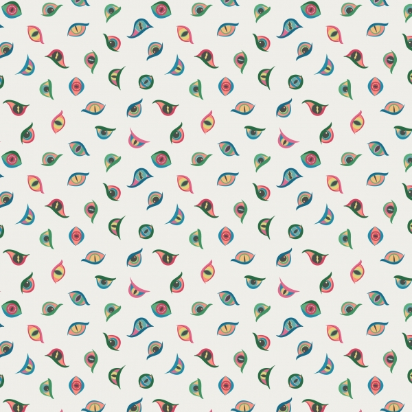 Dragon Eyes by Lewis & Irene sold by Online Canadian Fabric Store Woven Modern Fabric Gallery