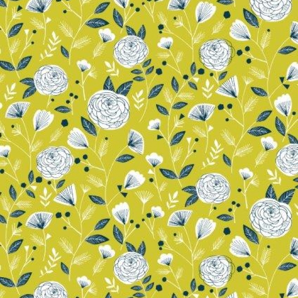 Floral sold by Online Canadian Fabric Store Woven Modern Fabric Gallery