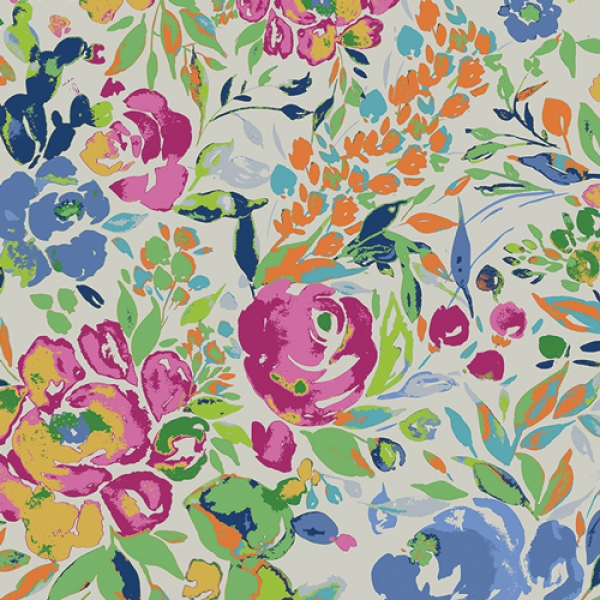 La Floraison Lit by Art Gallery Fabrics sold by Online Canadian Fabric Store Woven Modern Fabric Gallery