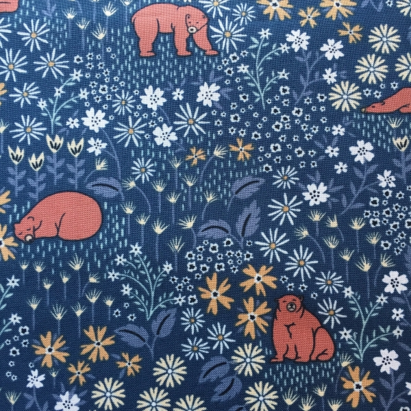 Bear with Me by Dear Stella sold by Online Canadian Fabric Store Woven Modern Fabric Gallery