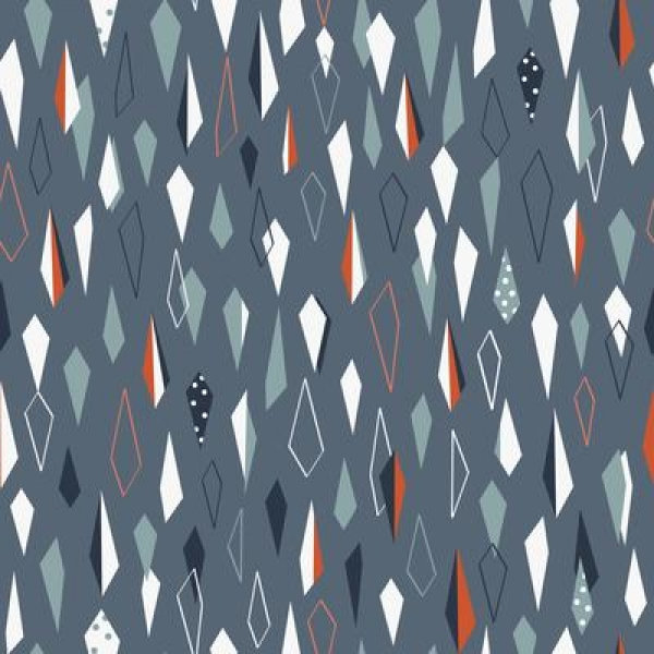Winterfold Geometric by Dashwood studio sold by Online Canadian Fabric Store Woven Modern Fabric Gallery