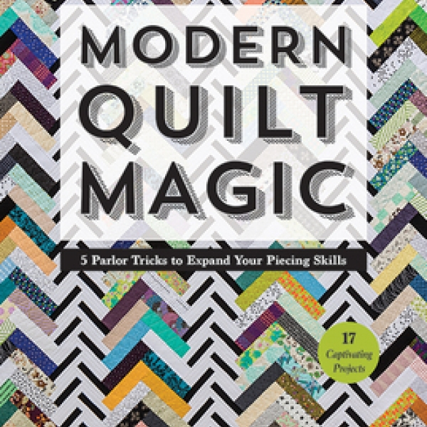 Modern Quilt Magic by Victoria Findlay Wolfe sold by Online Canadian Fabric Store Woven Modern Fabric Gallery