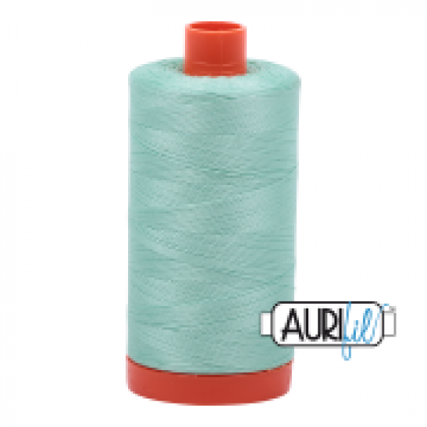Aurifil Thread Medium Mint 50wt sold by Online Canadian Fabric Store Woven Modern Fabric Gallery