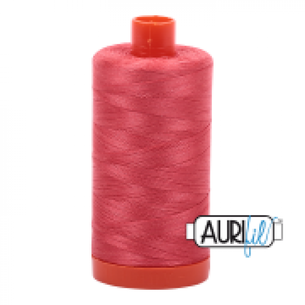 Aurifil Thread Medium Red sold by Online Canadian Fabric Store Woven Modern Fabric Gallery