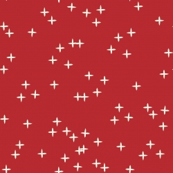 Ruby Wink Organic by Birch Fabrics sold by Online Canadian Fabric Store Woven Modern Fabric Gallery