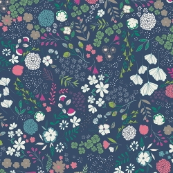 Blooming Ground Luscious by Art Gallery Fabrics sold by Online Canadian Fabric Store Woven Modern Fabric Gallery