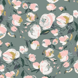 Sparkler Fusion Everlasting Blooms by Art Gallery Fabrics sold by Online Canadian Fabric Store Woven Modern Fabric Gallery