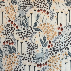 Rabbit Hole by Dear Stella sold by Online Canadian Fabric Store Woven Modern Fabric Gallery
