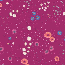 Costal Garden Violet by Art Gallery Fabrics sold by Online Canadian Fabric Store Woven Modern Fabric Gallery