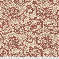 Bachelor Buttons Red by Morris & Co sold by Online Canadian Fabric Store Woven Modern Fabric Gallery