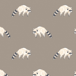 Racoons by Dear Stella sold by Online Canadian Fabric Store Woven Modern Fabric Gallery