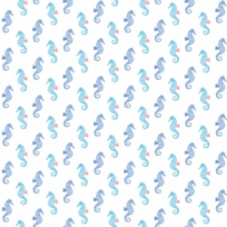 Seahorse by Dear Stella Fabrics sold by Online Canadian Fabric Store Woven Modern Fabric Gallery