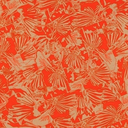 Tangerine from Gleaned by Carolyn Friedlander for Robert Kaufman Fabrics sold by Online Canadian Fabric Store Woven Modern Fabric Gallery