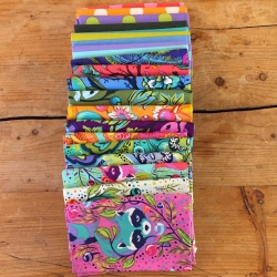 All Stars Fat Quarter Bundle by Tula Pink sold by Online Canadian Fabric Store Woven Modern Fabric Gallery
