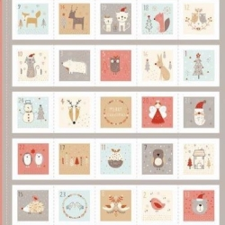 Advent Calendar Kit sold by Online Canadian Fabric Store Woven Modern Fabric Gallery