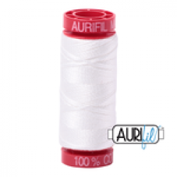Aurifil Thread Natural White 12 wt sold by Online Canadian Fabric Store Woven Modern Fabric Gallery