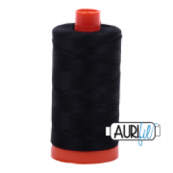 Aurifil Thread Black sold by Online Canadian Fabric Store Woven Modern Fabric Gallery