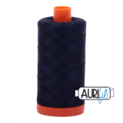 Aurifil Thread Very Dark Navy sold by Online Canadian Fabric Store Woven Modern Fabric Gallery