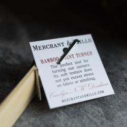 Bamboo Point Turner by Merchant & Mills sold by Online Canadian Fabric Store Woven Modern Fabric Gallery