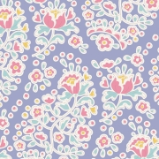 Charlene Blue  by Tilda sold by Online Canadian Fabric Store Woven Modern Fabric Gallery