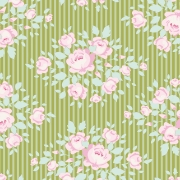 Marylou Green by Tilda sold by Online Canadian Fabric Store Woven Modern Fabric Gallery