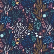 Sea Flora  from Dashwood Studios sold by Online Canadian Fabric Store Woven Modern Fabric Gallery