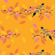 Martens Organic fabric by Charley Harper for Birch Fabrics sold by Online Canadian Fabric Store Woven Modern Fabric Gallery