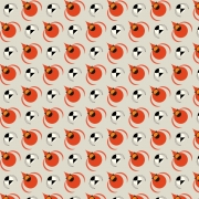 Cardinal and Chickadee Organic cotton fabric by Charley Harper for Birch Fabrics sold by Online Canadian Fabric Store Woven Modern Fabric Gallery