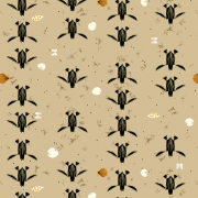 Perilous Passage Organic fabric by Charley Harper for Birch Fabrics sold by Online Canadian Fabric Store Woven Modern Fabric Gallery