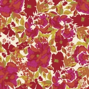 Dressing Room Red fabric by Bari J for Art Gallery Fabrics sold by Online Canadian Fabric Store Woven Modern Fabric Gallery