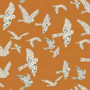 Flying Birds sold by Online Canadian Fabric Store Woven Modern Fabric Gallery
