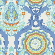 Grand Opulance Bleu by Art Gallery Fabrics sold by Online Canadian Fabric Store Woven Modern Fabric Gallery