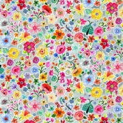 Moth Floral fabric from Dear Stella  Fabrics sold by Online Canadian Fabric Store Woven Modern Fabric Gallery