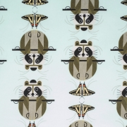 Racrobat organic fabric by Charley Harper for Birch Fabrics sold by Online Canadian Fabric Store Woven Modern Fabric Gallery