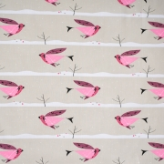 Purple Finch organic fabric from Birch Fabrics sold by Online Canadian Fabric Store Woven Modern Fabric Gallery