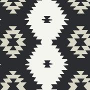 Daring Tribal Noir Art Gallery Fabrics sold by Online Canadian Fabric Store Woven Modern Fabric Gallery