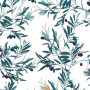 Olive Foliage by Art Gallery Fabrics sold by Online Canadian Fabric Store Woven Modern Fabric Gallery