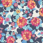 Lantana Cobalt by Art Gallery Fabrics sold by Online Canadian Fabric Store Woven Modern Fabric Gallery