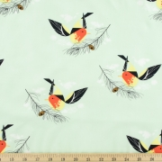 Western Tanager Organic by Charley Harper for Birch Fabrics sold by Online Canadian Fabric Store Woven Modern Fabric Gallery