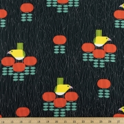O-u-Lava Organic fabric by Charley Harper for Birch Fabrics sold by Online Canadian Fabric Store Woven Modern Fabric Gallery