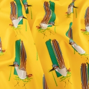 Roadrunner Organic cotton fabric by Charley Harper for Birch Fabrics sold by Online Canadian Fabric Store Woven Modern Fabric Gallery