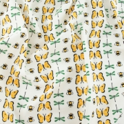 Winged Bugs Organic cotton fabric by Charley Harper for Birch Fabrics sold by Online Canadian Fabric Store Woven Modern Fabric Gallery