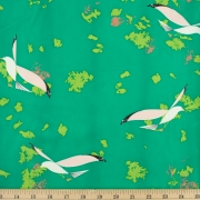 Seagulls Organic fabric by Charley Harper for Birch Fabrics sold by Online Canadian Fabric Store Woven Modern Fabric Gallery