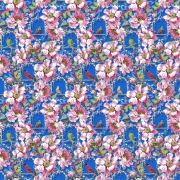 The Queens Musicians small royal fabric by Odile Bailloeul for Free Spirit fabrics sold by Online Canadian Fabric Store Woven Modern Fabric Gallery