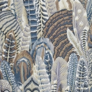 Feathers Gray fabric from Kaffe Fassett sold by Online Canadian Fabric Store Woven Modern Fabric Gallery