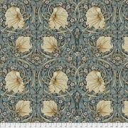 Pimpernel Teal by Morris & Co sold by Online Canadian Fabric Store Woven Modern Fabric Gallery